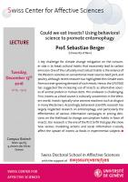 Talk Berger (Lecture Series)