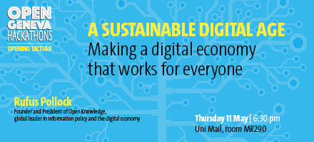 A sustainable digital age - Making a digital economy that works for everyone