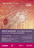 Forced Migration - How Higher Education contributes Pathways to Solutions