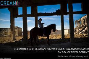 Conférence CREAN - The impact of children's rights education and research on policy development