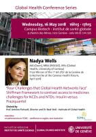 16 mai: Global Health Conference Series