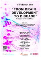 Symposium « from brain development to disease » en l'honneur de Jozsef Kiss