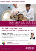 4 mars: Global Health conference series