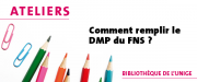 Comment remplir le Data Management Plan (DMP) du FNS